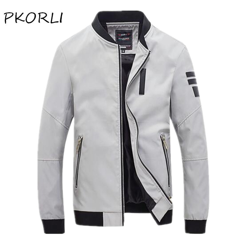 Aliexpress.com : Buy Pkorli New Men Jacket Spring Autumn Fashion ...