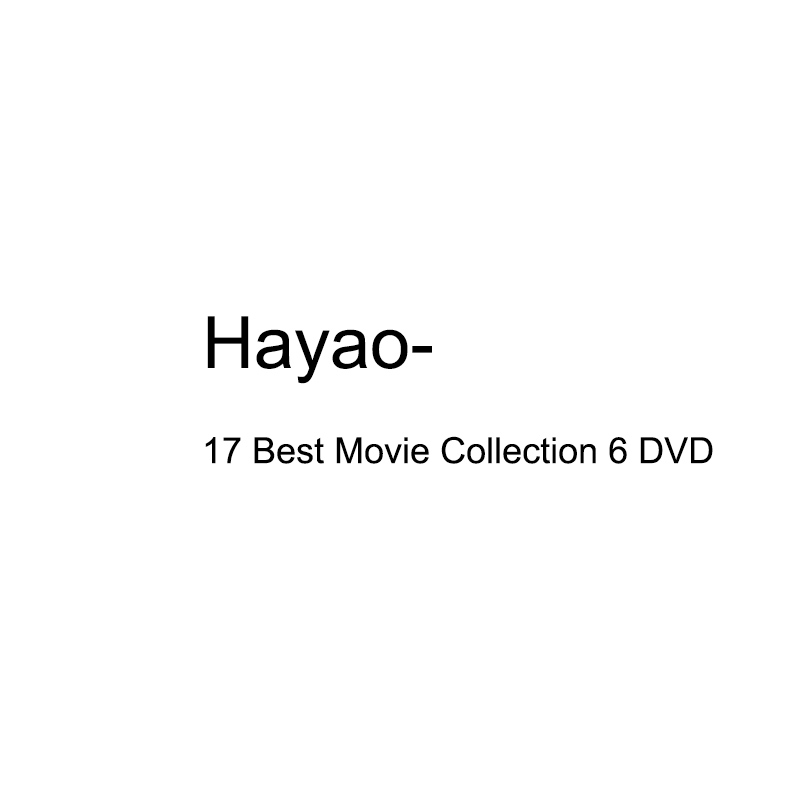 Hayao17 Best Movie Collection 6 DVD(China)