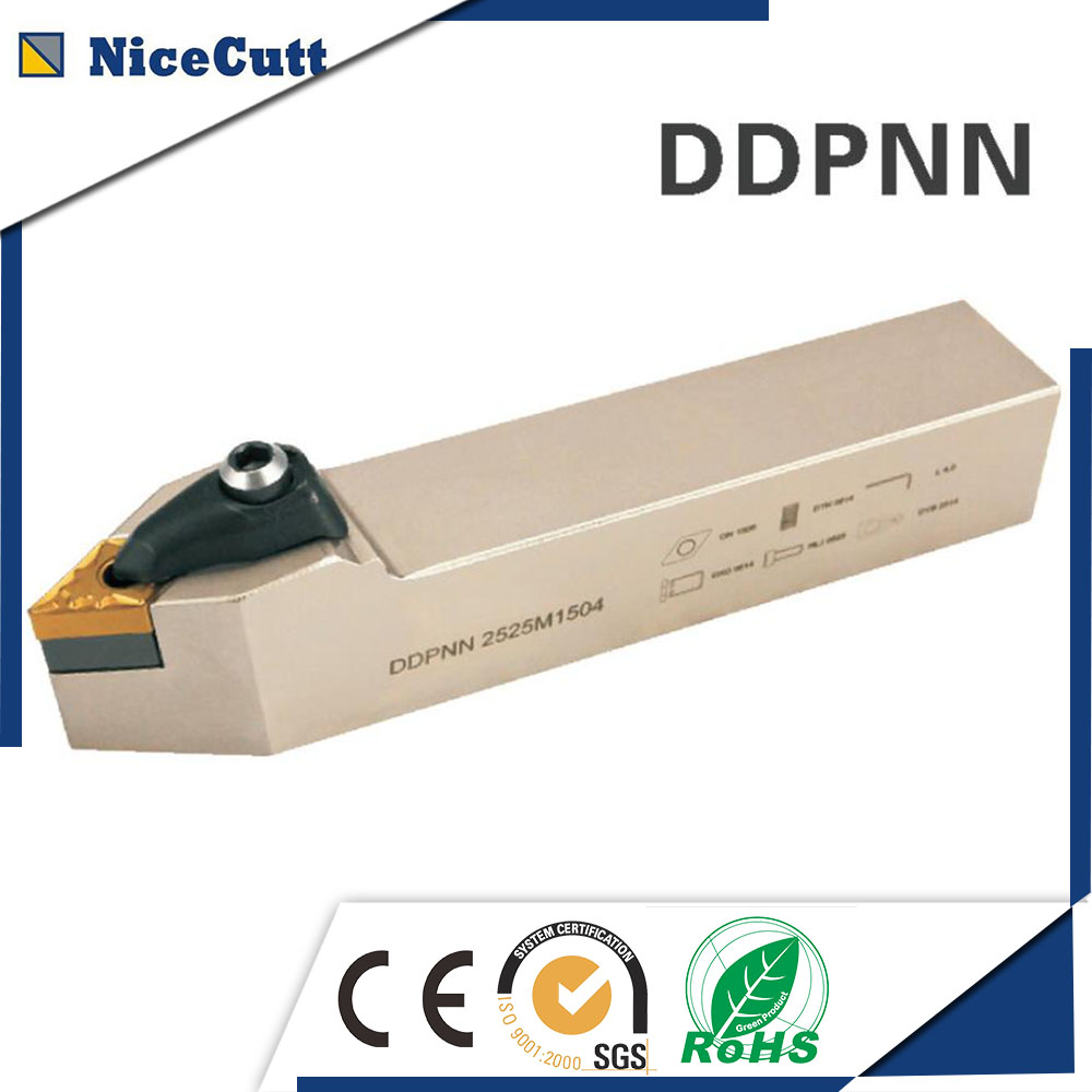 Free Shipping CNC Lathe Machinery Cutting Tool Holder Carbide External Holders DDPNN for Insert DNMG high quality
