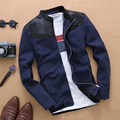 Новое Прибытие Мужская Куртка и Пальто бренда Куртка Лоскутное Куртка мужской moto куртки т Тенденция Бренд большой размер 5xl