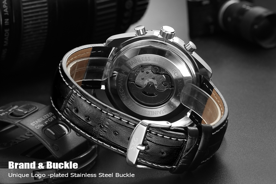 HTB1yz2nopGWBuNjy0Fbq6z4sXXaT JARAGAR Top Luxury Brand Men Watch Mens Fashion Mechanical Watches Man Casual Business Waterproof Wristwatch Relogio Masculino