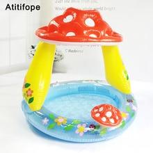 Купить с кэшбэком Baby Pool Splash Mat Infant Water Play Mat Toy Children's inflatable pool  Beach Play Center Pool Water Sprinkler for Kids