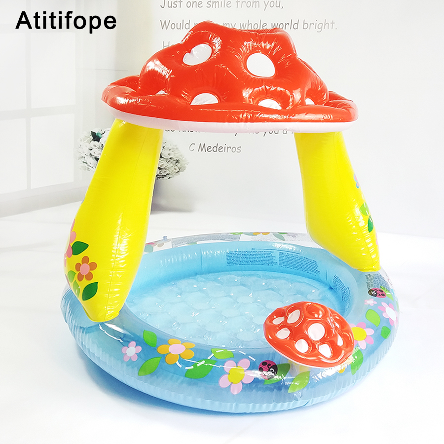 Tapis d'éclaboussure de piscine pour bébé tapis de jeu d'eau pour bébé jouet piscine gonflable pour enfants