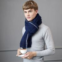 NEW Cashmere Scarf Luxury Brand 2017 Classic Pashmina Scarf Women Tassels Scarves Wraps Autumn Winter Men