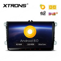 Android 8.0 Oreo OS 9 Car Multimedia Navigation GPS Radio for Seat Leon (MK2) 2005 2013 & Toledo 2004 2015 with accessories