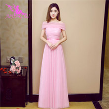 AIJINGYU 2021 2020 חם בתוספת גודל שושבינה שמלות קצר מסיבת חתונת שמלה