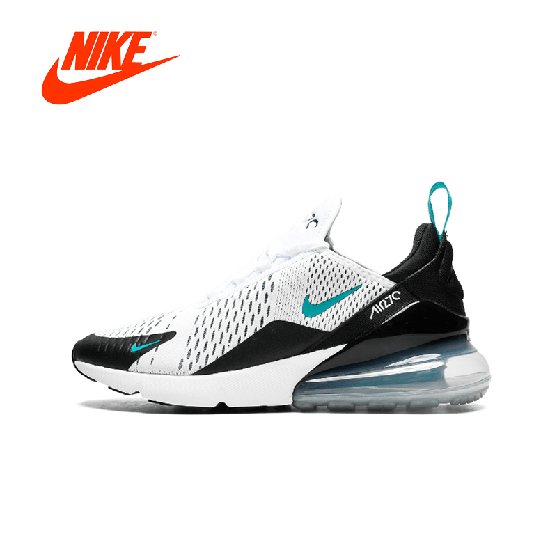 Original New Arrival Authentic Nike Air Max 270 Men's Breathable Running Shoes Sport Outdoor Sneakers Good Quality AH8050 001