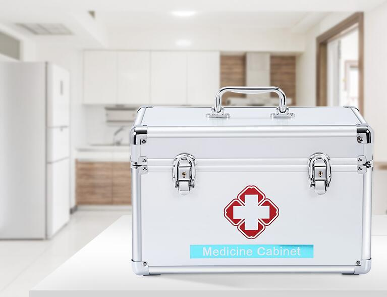 Medicine box home portable special size children complete emergency medical family medicine box medical box to go out of the box windows 8 1 out of the box