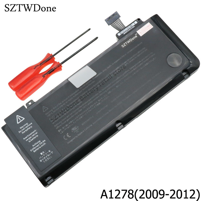 Laptop Battery For APPLE MacBook Pro 13 A1278 A1322 MB990 MB991 MC700 MC374 MD313 MD101 MD314