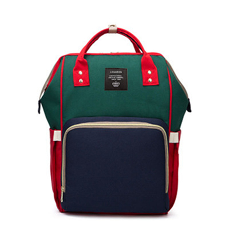 HTB1yz4ZgC8YBeNkSnb4q6yevFXa3 23 Colors Fashion Mummy Maternity Nappy Bag Large Capacity Baby Diaper Bag Travel Backpack Designer Nursing Bag for Baby Care
