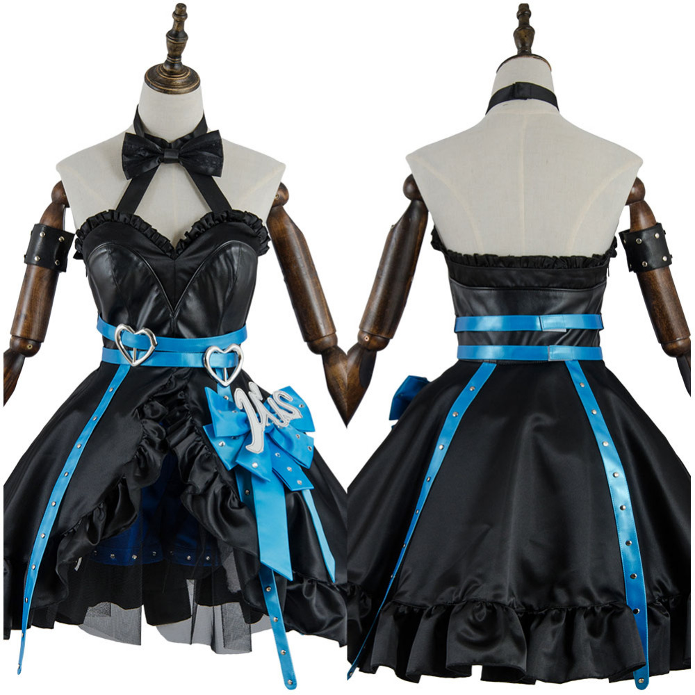 LoveLive! Love Live Cosplay Eli Ayase/Ellie Costume Full Sets Uniform Arcade Dress Cosplay Halloween Carnival Costume For Women