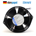 НОВЫЙ осевой Овальный Вентилятор охлаждения ebmpapst PAPST 7214N/17 24V 12W 0.5A 150*55