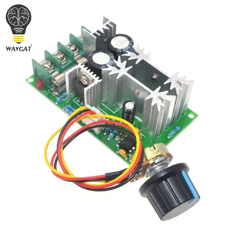 1pcs Universal Dc10-60v Pwm Hho Rc Motor Speed Regulator Controller Switch 20a Motors & Parts