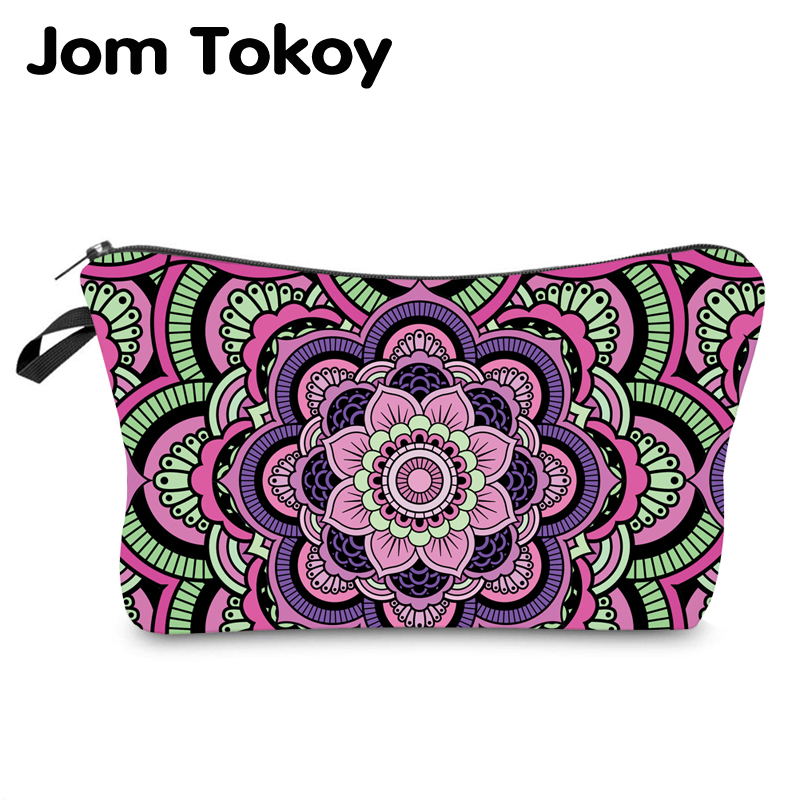 Jom Tokoy Water Resistant Makeup Bag Printing Mandala Cosmetic Bag Organizer Bag Women Multifunction Beauty Bag Hzb968