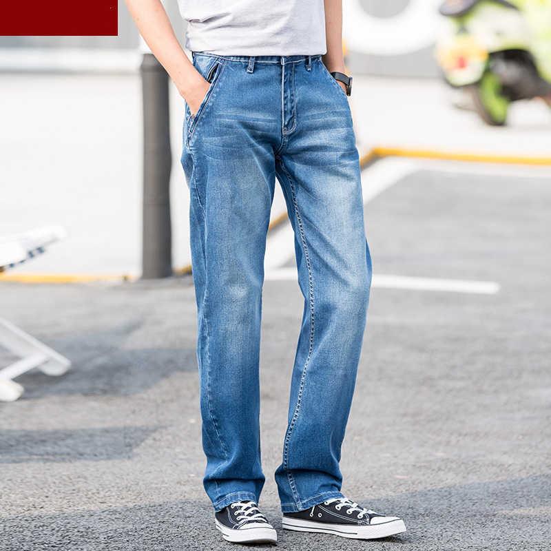 Männer jeans hosen hosen stretch große größe große 6XL 7XL 8XL 9XL 10XL 44 46 48 sommer herbst klassische casual jeans zu hause