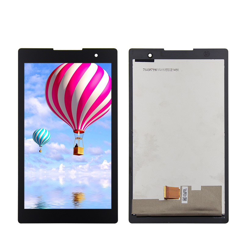 For Lenovo Lenovo Tab 2 A7-30 A7-30HC LCD DIsplay + Touch Screen Digitizer Assembly Black for lenovo tab 2 a7 30 a7 30hc 2nd touch screen digitizer glass lcd display monitor assembly free shipping