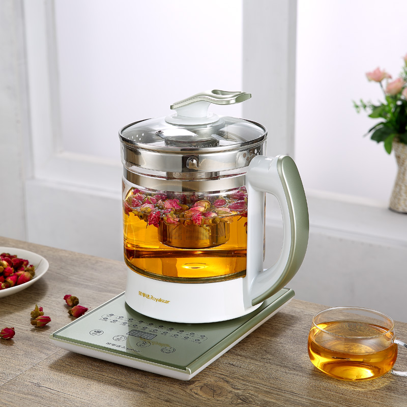 Electric kettle Curing pot Extra thick glass full-automatic multi-functional zhengpin  Chinese medic Safety Auto-Off Function free shipping new electric kettle with thick glass curing pot of automatic temperature control electric kettles