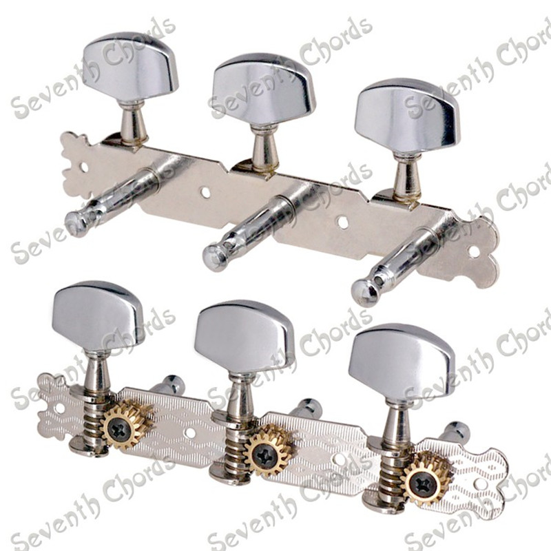A Set 3R3L String Tuners Tuning Pegs Keys Machine Heads for Acoustic Guitar