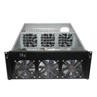 4U Ethernet Chassis 6 Video Card Chassis Multi GPU Chassis Multi Video Card Box Support OEM New