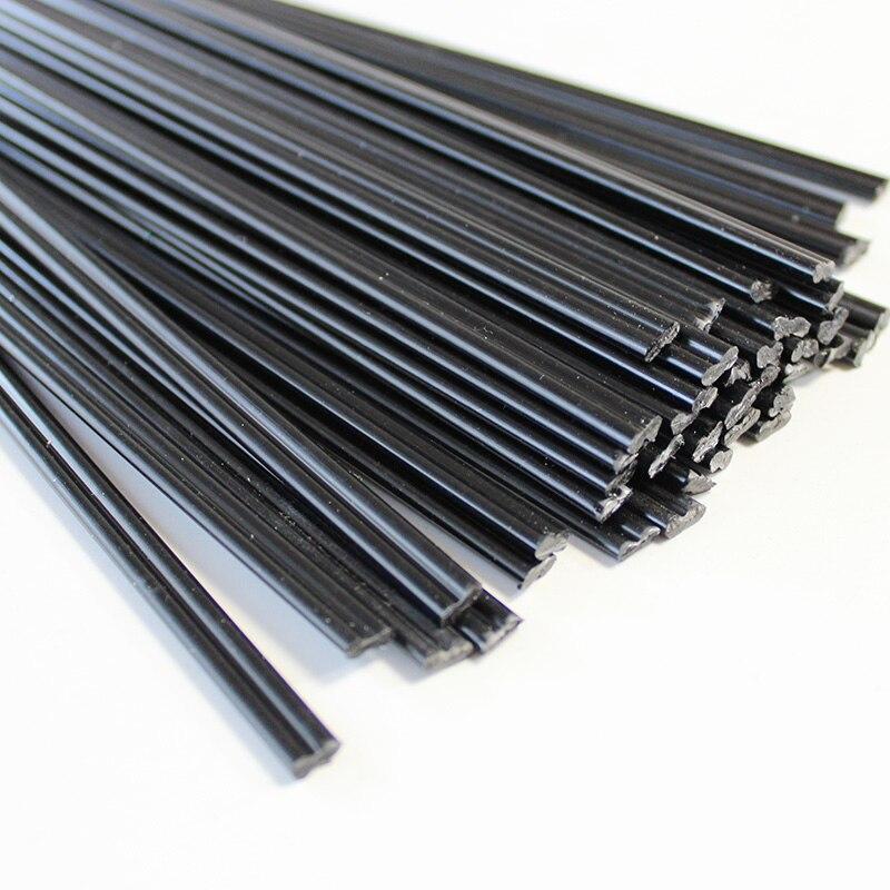 plastic welding rods black PE ABS PP PPR for product fix welder sticks hot air gun solder soldering station bumper