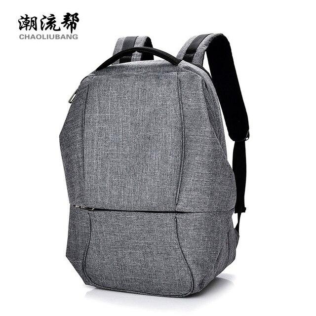 Fashion Rucksack Men S Backpack Laptop Bag College Students Book Bag