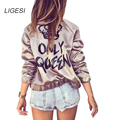 Coats Real Top Fashion Regular Zipper No Full Women Bomber Jacket 2016 Female Coat Flight Suit And Embroidered Patch Chaquetas