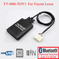 Yatour car radio USB SD AUX IN Kit for Toyota Lexus 5+7PIN