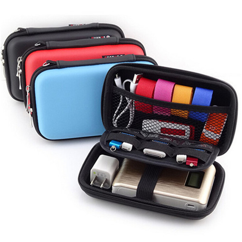 3 Colors Headphone Carry Bag Hard for Power Beats PB In-Ear Earphone Pouches Storage Cases Box