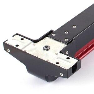 Image 4 - KAIDS dispositivo de salida de pintura de hierro, cerradura para puertas de Escape de incendios, barra de empuje, cerradura de salida con función de alarma
