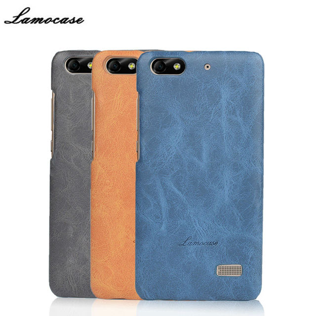 Case For Huawei Honor 4C Luxury Cover For Huawei G Play Mini /C8818 Protective Back Bags Lamocase Brand For Huawei 4C CHM-U01