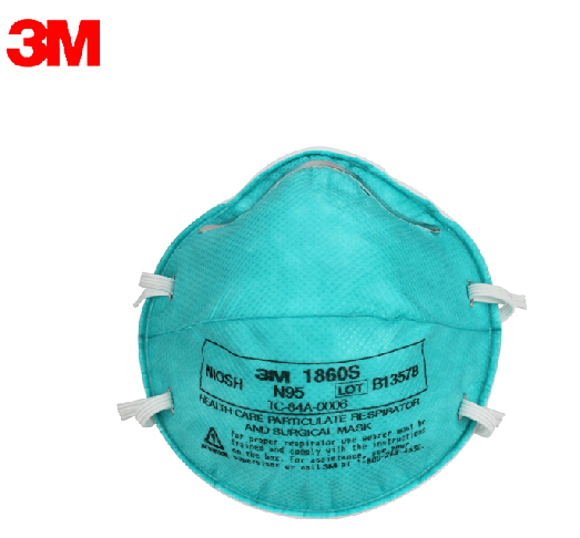 3M 1860S Mask Prevention of influenza A  Dust masks articles N95 Health Care Particulate Respirator Surgical Mask H020301 3m 9502 dust masks n95 anti particulate matter anti pm2 5 smog protective industrial dust influenza virus mask h012912