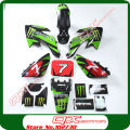 KAYO Apollo Bosuer 110cc 125cc 140cc 150cc 160cc dirt pit bikes Plastic kit + 3m graphics Decals Sticker Kit For XR50 CRF50