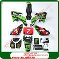 KAYO Apollo Bosuer 110cc 125cc 140cc 150cc 160cc dirt pit bikes Plastic kit + 3m graphics Decals Sticker Kit For XR50 CRF50