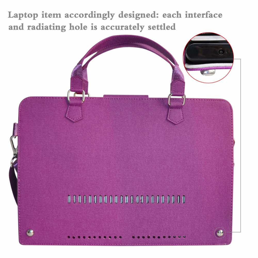2 in 1 Accurately Designed Protective PU Leather Cover + Portable Carrying Bag For 13.3 HP Spectre x360 u000 series Laptop
