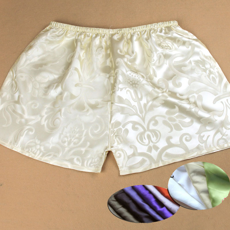 Special Price Sells! Men And Women Is Pure   Silk Hot Shorts Silk