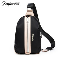 DANJUE 2018 Hot Sale Oxford Cloth Men Chest Bag Daily Daypack Waterproof Male Crossbody Bag For