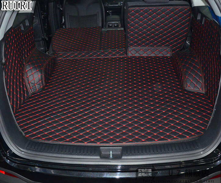 Bonnes tapis! spécial tronc tapis pour KIA Sorento 5 sièges 2018 durable cargo liner boot tapis pour Sorento 2017-2015, livraison gratuite