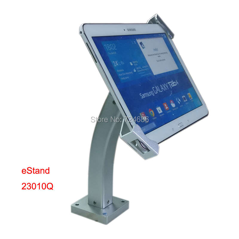 ФОТО tablet secure mount on desktop foothold support with lockable bracket display on restaurant or trade show