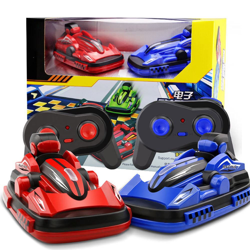 MUQGEW Brand Remote Control Toys Remote Control RC Bumper Cars 2PCS RC Toy Boy karting game 2.4G Radio Control Vehicles