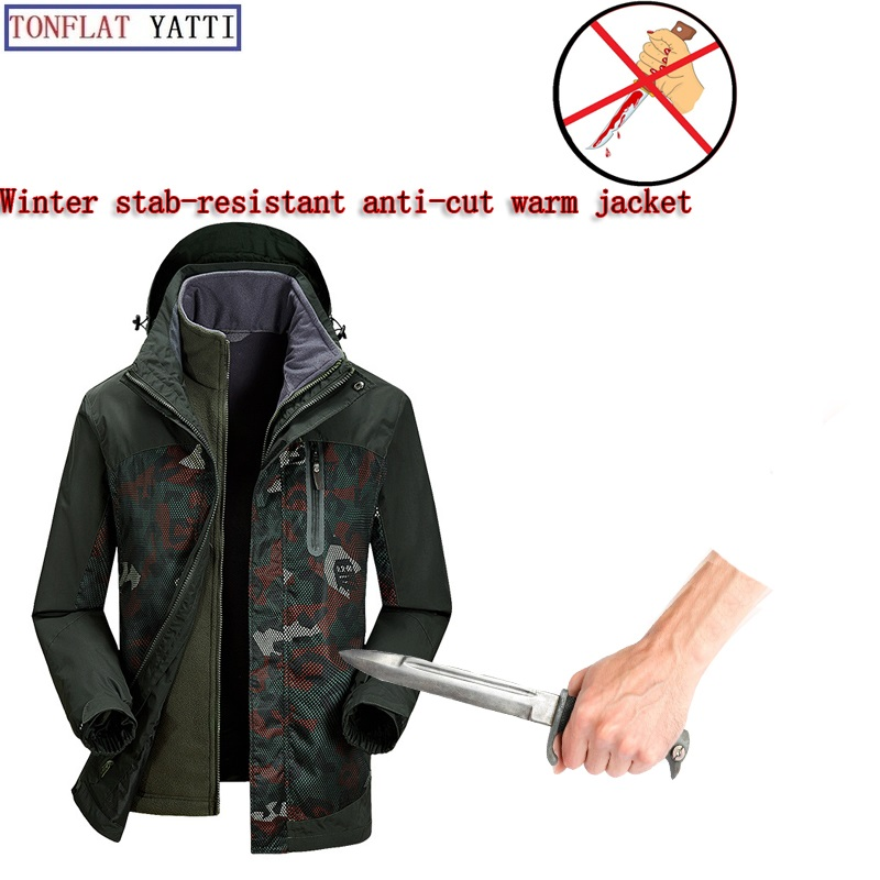 New 2019 Self Defense Security Anti-cut Anti-Sta Hack Jacket Military Stealth Defensa Police Personal Tactics Clothing 3 Colors
