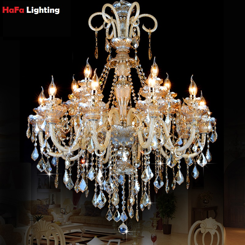 Modern Large Chandelier Lighting Crystal Chandelier
