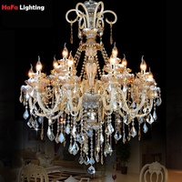 Chandelier LUXURY Large Luxury Crystal Chandelier Luxurious Export K9 Crystal Chandelier European Style Crystal Chandeliers