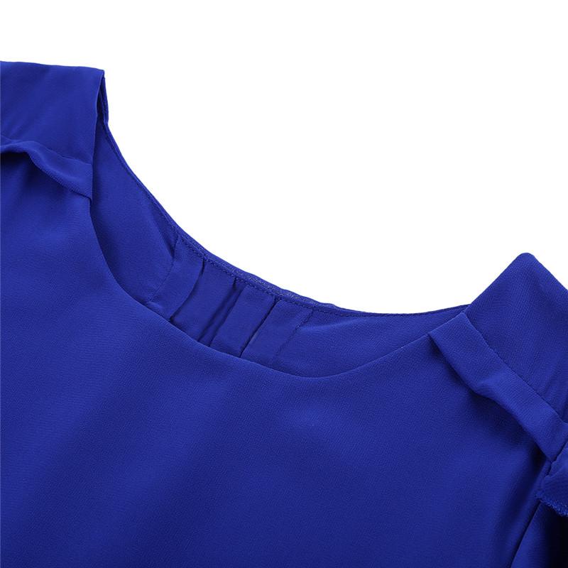 short sleeve chiffon blouse (10)
