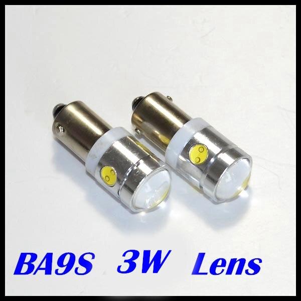 BA9S светодиодные лампы, автомобильная лампа высокой мощности 3 Вт 250лм с линзой, 168 Автомобильные светодиодные лампы, 194 Автомобильные светодиодные лампы