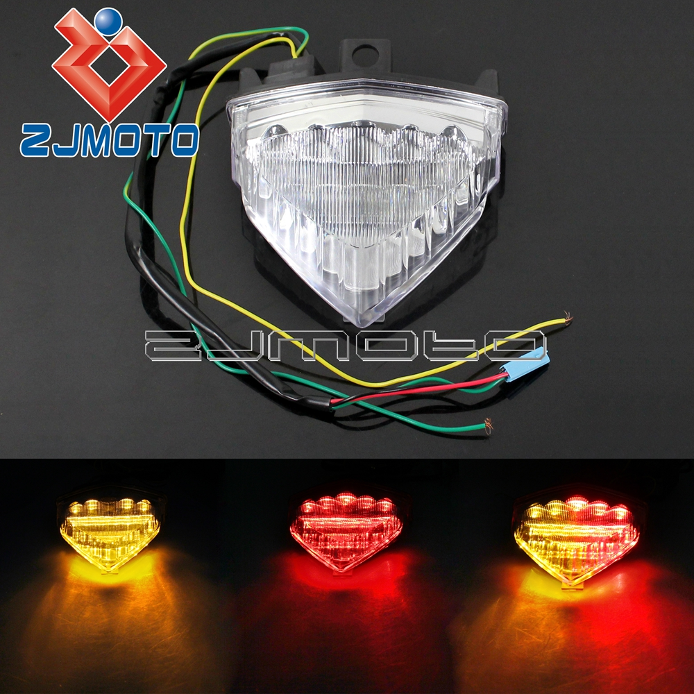 LED Tail Light Integrated Turn Signals For Honda CB1000R CB600F Hornet CBR600F Rear Light Brake Light