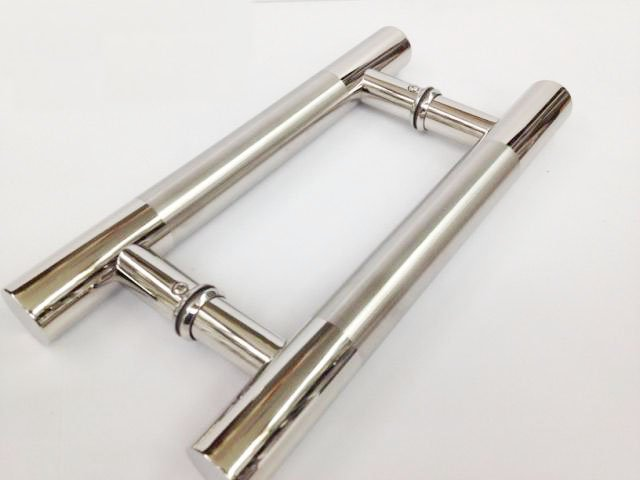 push handle. stainless steel pull push handle for wood -glass entry front door exterior interior r