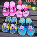 2016 summer new arrival 3D cartoon fashion children boy/girl slippers skid resistance casual kids beach shoes