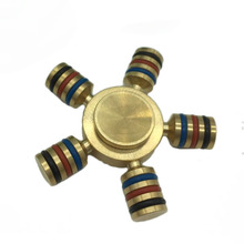 Hot Sell Fidget Spinner Toys Hand Spinner Funny Toys Fidget Decompression Gyroscope Educational Toys FL
