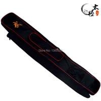 Zipper tai chi sword set sword bags, double layer Oxford Fabric Kendo Aikido sword bag,110cm long, have stick bag free shipping