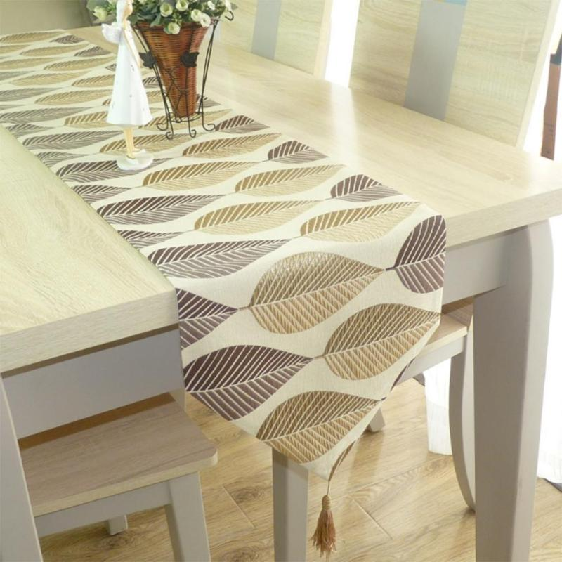 180x32cm Table Runner Modern European Simple Fresh Table Flag Table Runners Bed Banner Party Wedding Decoration Table Runner